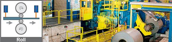Height measurement of lifting platforms on automobile production lines