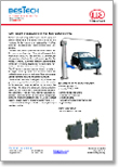 Lift height measurement for two column lift – Automotive
