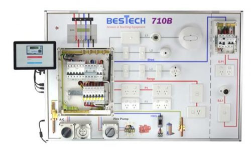 710B electrical testing and assessment panel