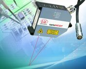New optoNCDT 1750DR laser triangulation sensor for measurement on reflective surfaces
