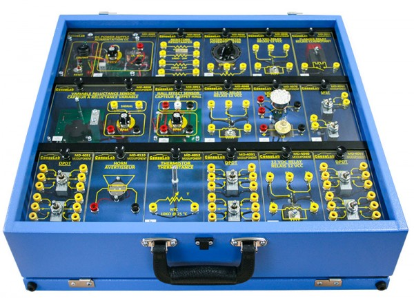 New Modular Training System for Electrical Circuits