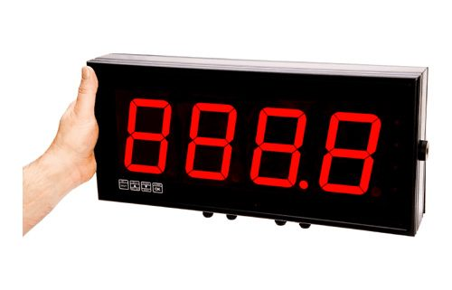 Large Digit Display Panel Meter