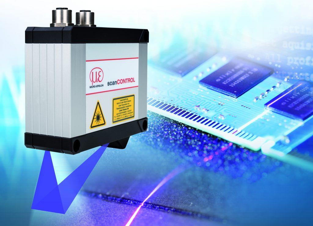 New High-Resolution Blue Laser Profile Scanner