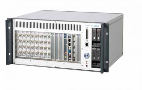 Robust high channel count data acquisition system for dynamic and high speed data acquisition